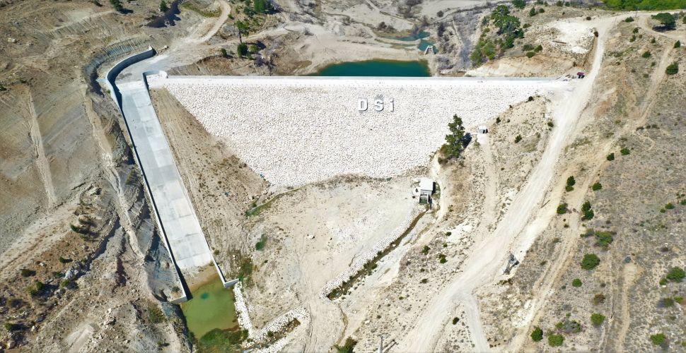 Dereyurt Barajının Yüzde 85 Fiziki Gerçekleşmesi Tamamlandı!