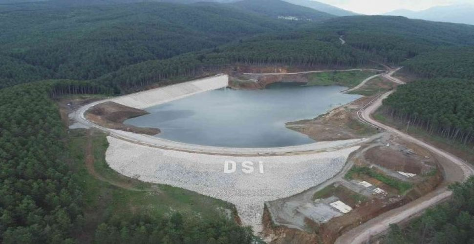 Bursa Kocayayla Göleti Sulama İnşaatı Çalışmaları Devam Ediyor!