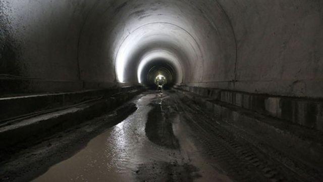 Geminbeli Tüneli'nin Yüzde 75'i Tamamlandı!